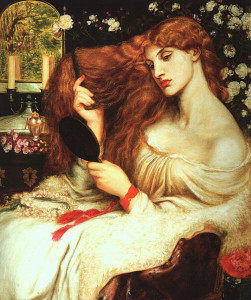 Lilith-DanteGabrielRossetti-1868