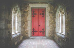 kerk-deur