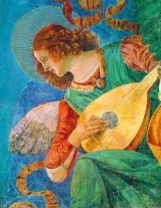Melozzo da Forli angel musician